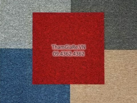 Thảm tấm một màu giá rẻ