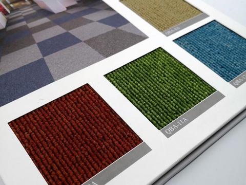 Thảm tấm một màu QBA