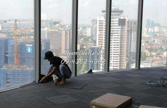 Hướng dẫn thi công thảm trải sàn số #1 tại Hà Nội