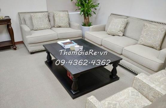 Công trình thảm tấm một màu tại 102 Thái Thịnh