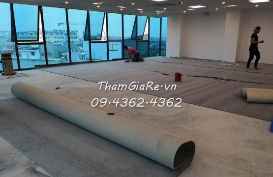 Thảm cao cấp lông xù tại văn phòng ở Nguyễn Văn Cừ - Long Biên HN