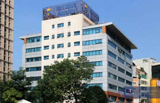 Thi công thảm cuộn màu xanh dương khổ 4m cho Tòa nhà Văn phòng 36 Hoàng Cầu